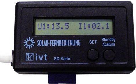 MPPT Remote távvezérlő panel