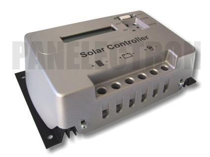 Napelemes szabályozó 30A LCD kijelzővel