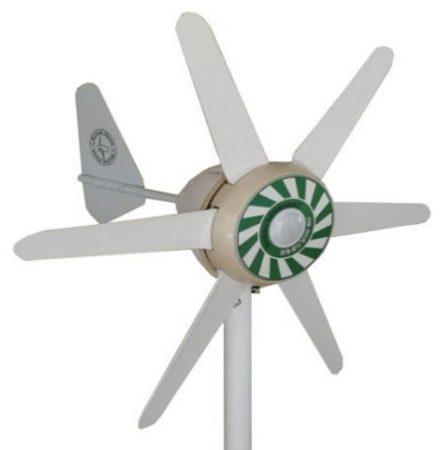 90W-os kis szélgenerátor 12V-os akku töltéséhez