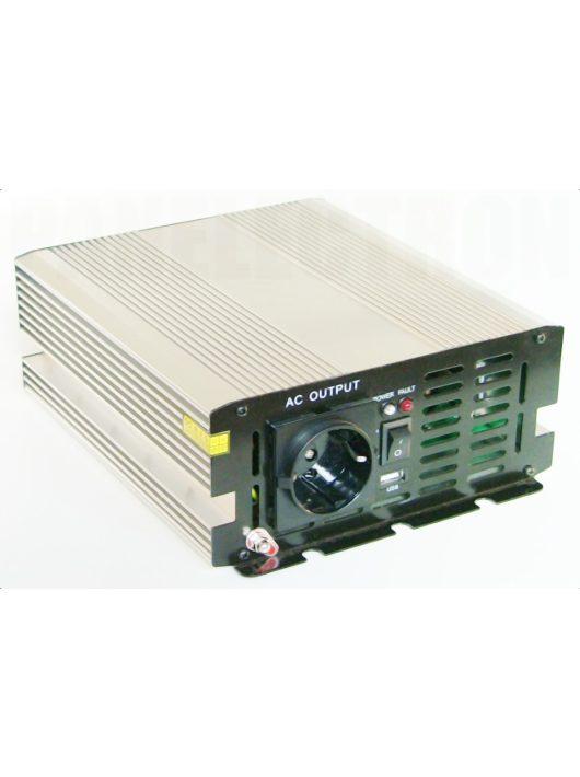 MW-1200-12 1200W-os módosított szinusz inverter 12V-os bemenettel