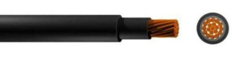 Napelem kábel 4 mm2-es (Fekete)