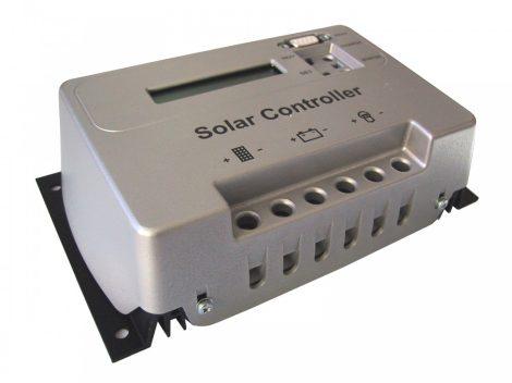 PSCD20 Napelemes szabályozó 20A LCD kijelzővel