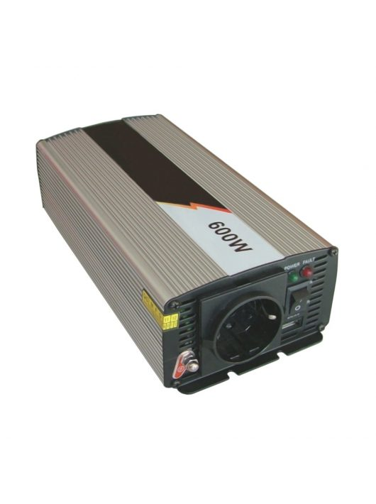 EcoSine SWE-600-12 600W tiszta szinusz inverter 12V