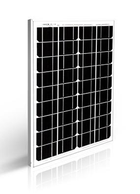 30W 12V monokristályos napelem alumíniumkerettel