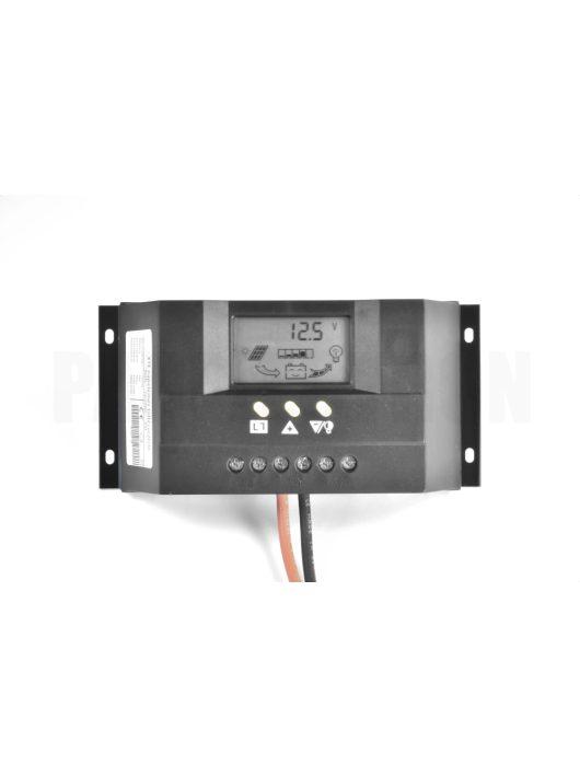 XTE30 napelemes szabályozó 30A, 12-24V
