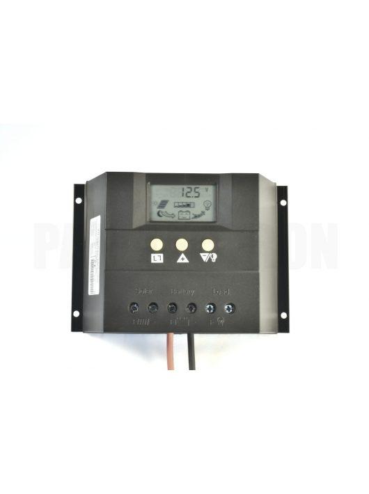 XTE60 napelemes szabályozó 60A, 12-24V